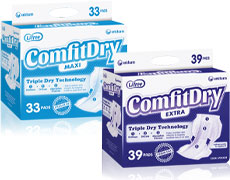 ComfitDry for Heavier Bladder Leakage