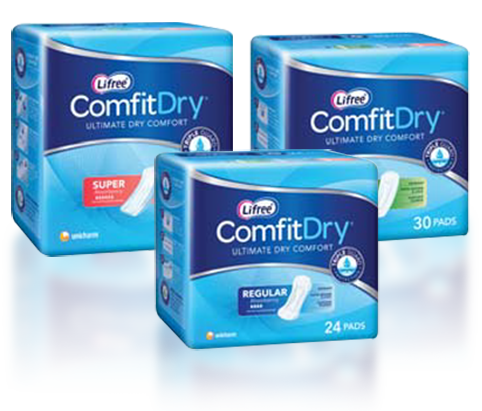 ComfitDry Regular Packs